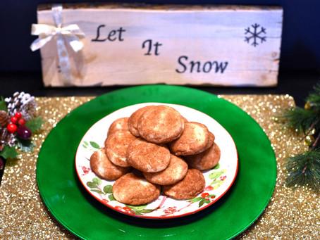 Day 2: Eggnog Snickerdoodle Cookies