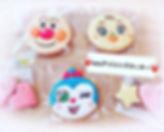 ・newアイシングクッキー・_・_#chainon_#cafe_#アイシングクッ