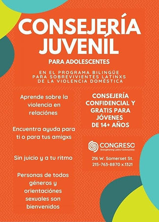 Congreso Teen Youth Counseling (Spanish)