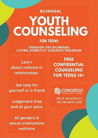 Congreso Teen Youth Counseling (English)