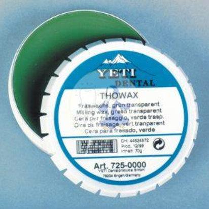 cera per modellazione thowax yeti verde 70gr
