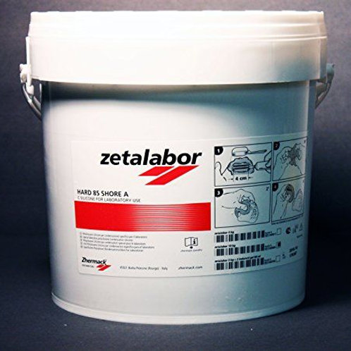 Zetalabor hard 85 shore A kg 5 + 2 cat.da 60ml