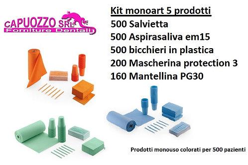 Kit MONOART 5 prodotti,500 pazienti.