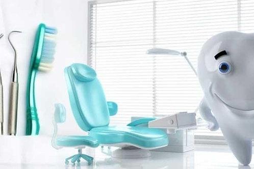 Attrezzatura completa studio dentistico.