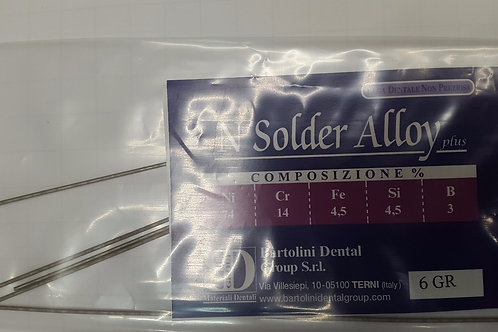 Barrette per saldatura N Solder Alloy plus 6gr