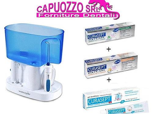 Idropulsore Waterpik WP - 70E,Classico orale omaggio 3pezzi dentifricio curasept
