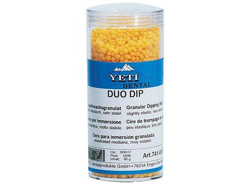 Duo Dip, Yeti cera d'immersione, arancione - 80 g