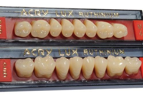 Denti in resina Acry Lux col. Chromascop/Vita Posteriori