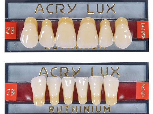 Denti in resina Acry Lux col. Chromascop/Vita Anteriori