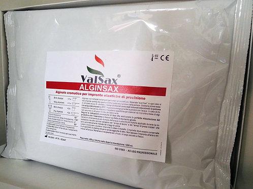 Alginato cromatico AlginSax per impronta 3D,calchi ed altro ancora conf.450gr
