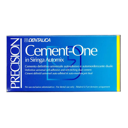 Cement-One in siringa Automix precision Dentalica