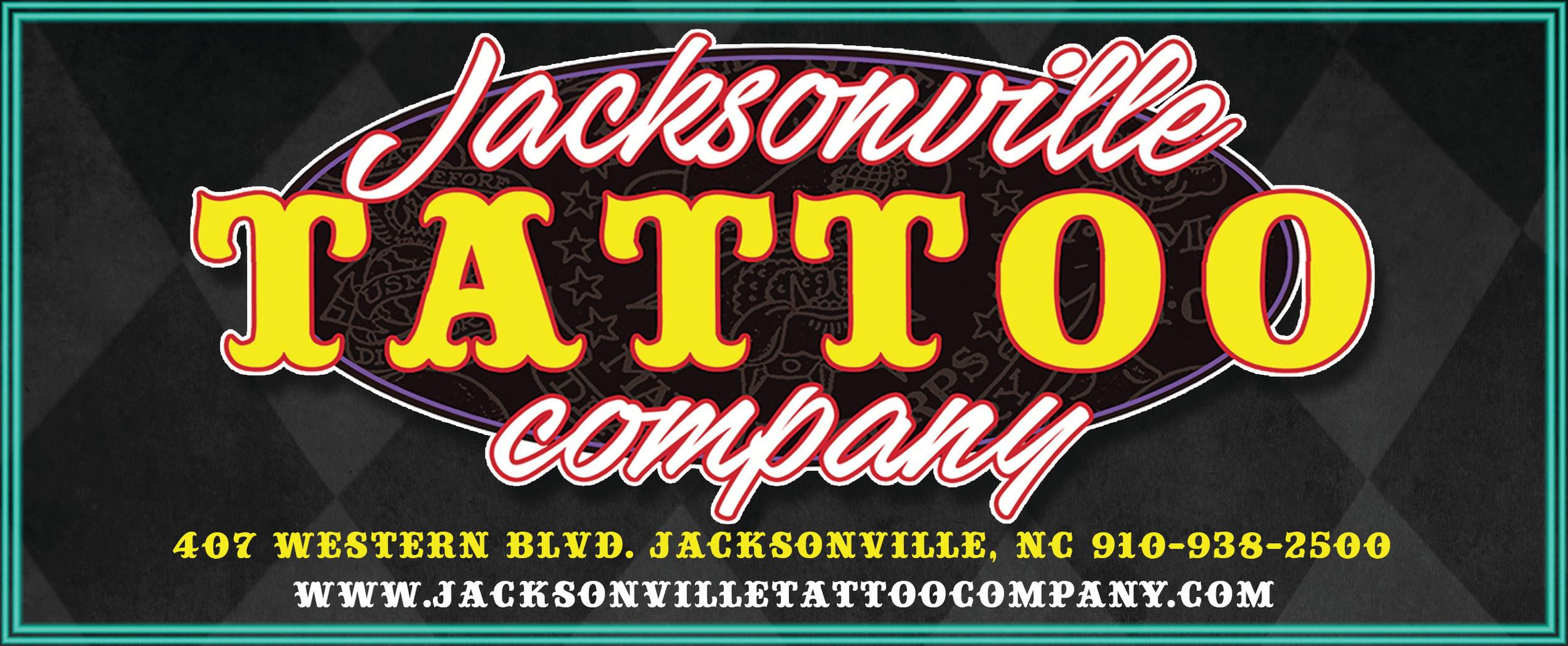Jacksonville Tattoo Company, Jacksonville NC Tattoo Shop
