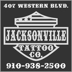 Jacksonville NC Tattoo shop parlor North Carolina Best Bombs Away Tattoo Elite Tattoo Gallery Gypsy Rose Tattoo Unique Ink Camp Lejeune Geiger Johnson MCAS New River Old Salt Tattoo Body Piercing