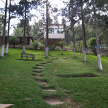 the path to the classrooms