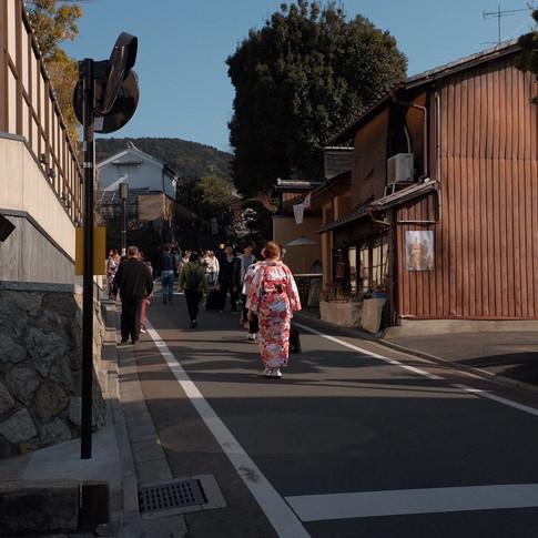 Kyoto, Février 2018.