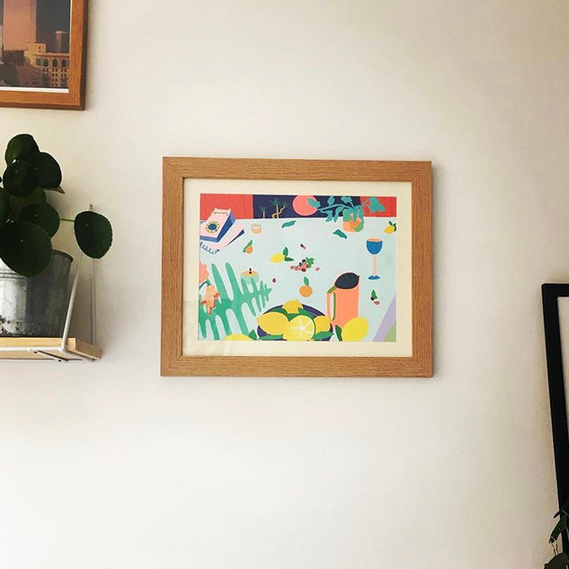 Peinture encadrée par Emmylou