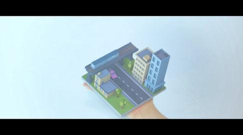 「手のひら町」【VFX】