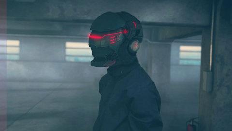 【VFX】Sci-Fi Helmet