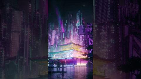 【VFX】Sci-Fi Kinkakuji
