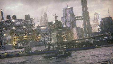 【VFX】工業地帯