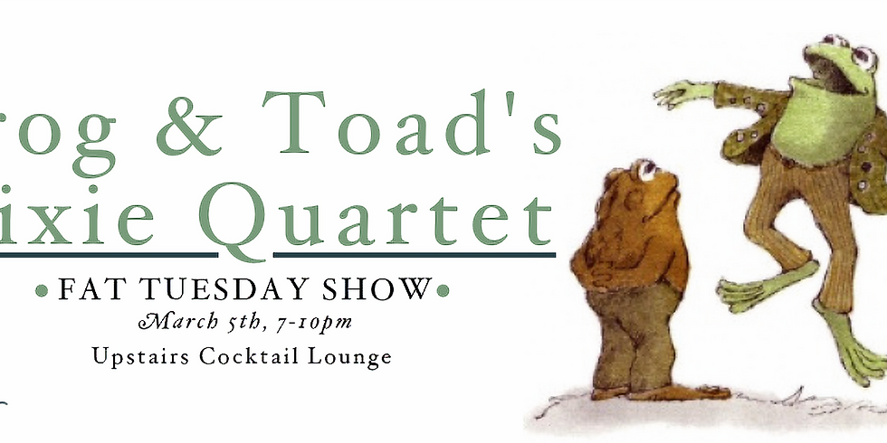 Frog & Toad's Dixie Quartet at Maple Hall