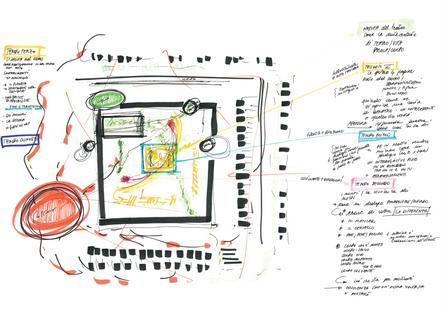 Mappa della memoria, E. Carretta, 2010