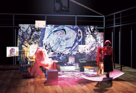 Rendering della scena, A. Colombo, 2010