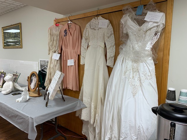 4 Generations of Wedding Dresses