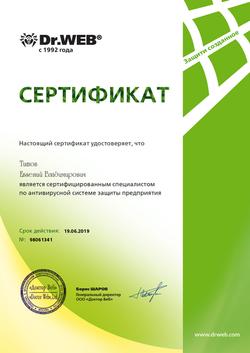 Антивирусная система защиты предприятия (Титов 19.06.19)