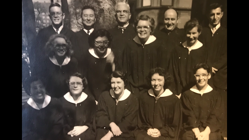 Betty pictured front lower right