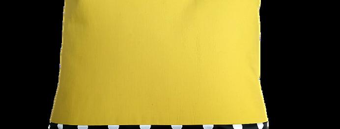 Coussin Yellow-Black-White 40x40