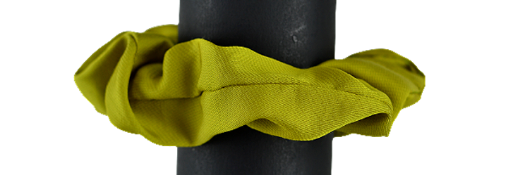 Chouchou printemps-été Green Lime