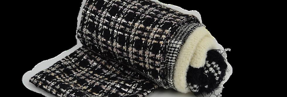 Paon écharpe de laine