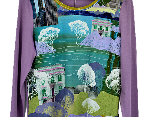 T-Shirt Field Violet  (Taille 40-42)