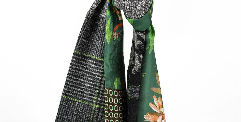 Lovy Écharpe de lainage et soies