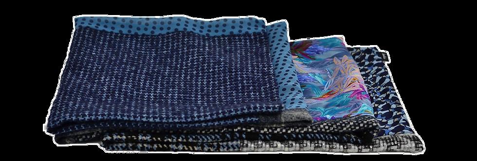 Eltamin Écharpe de lainage et soies