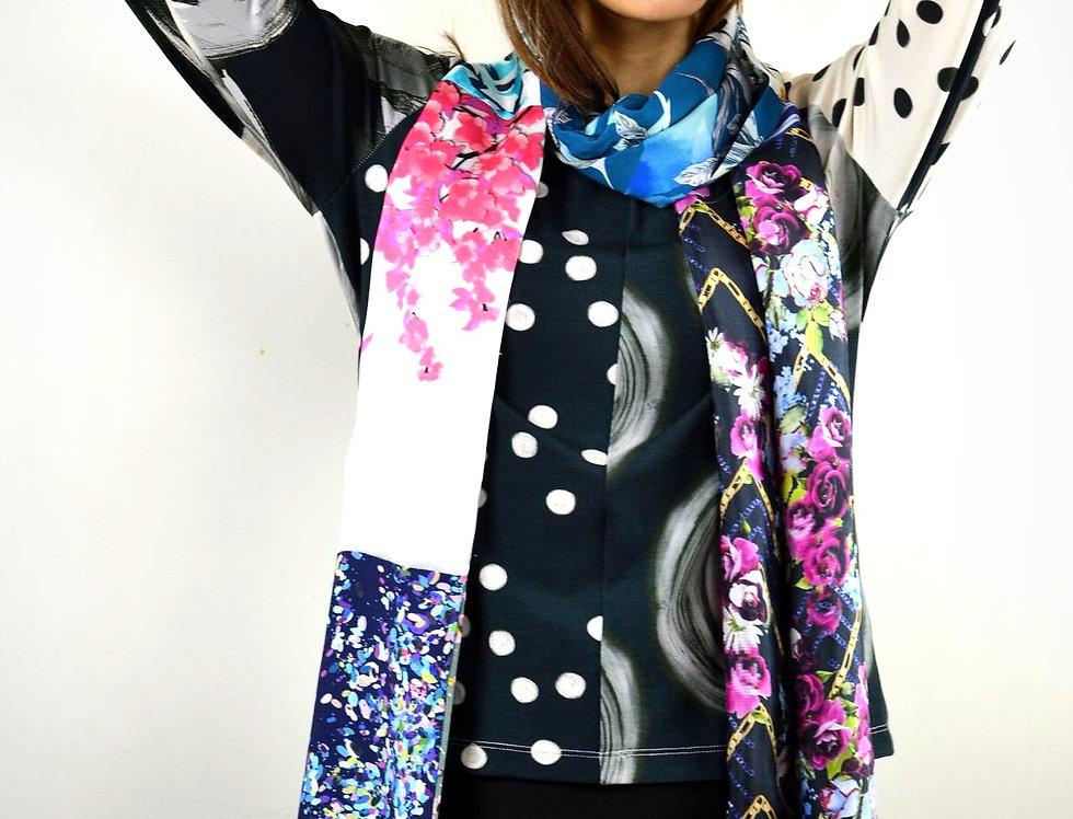 T-Shirt Soleil Noir - Taille 38-40