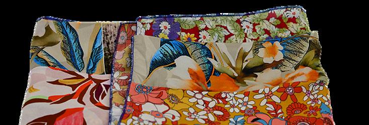 Foulard Colorful Flowers