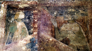 fresce în Castelul Huniazilor