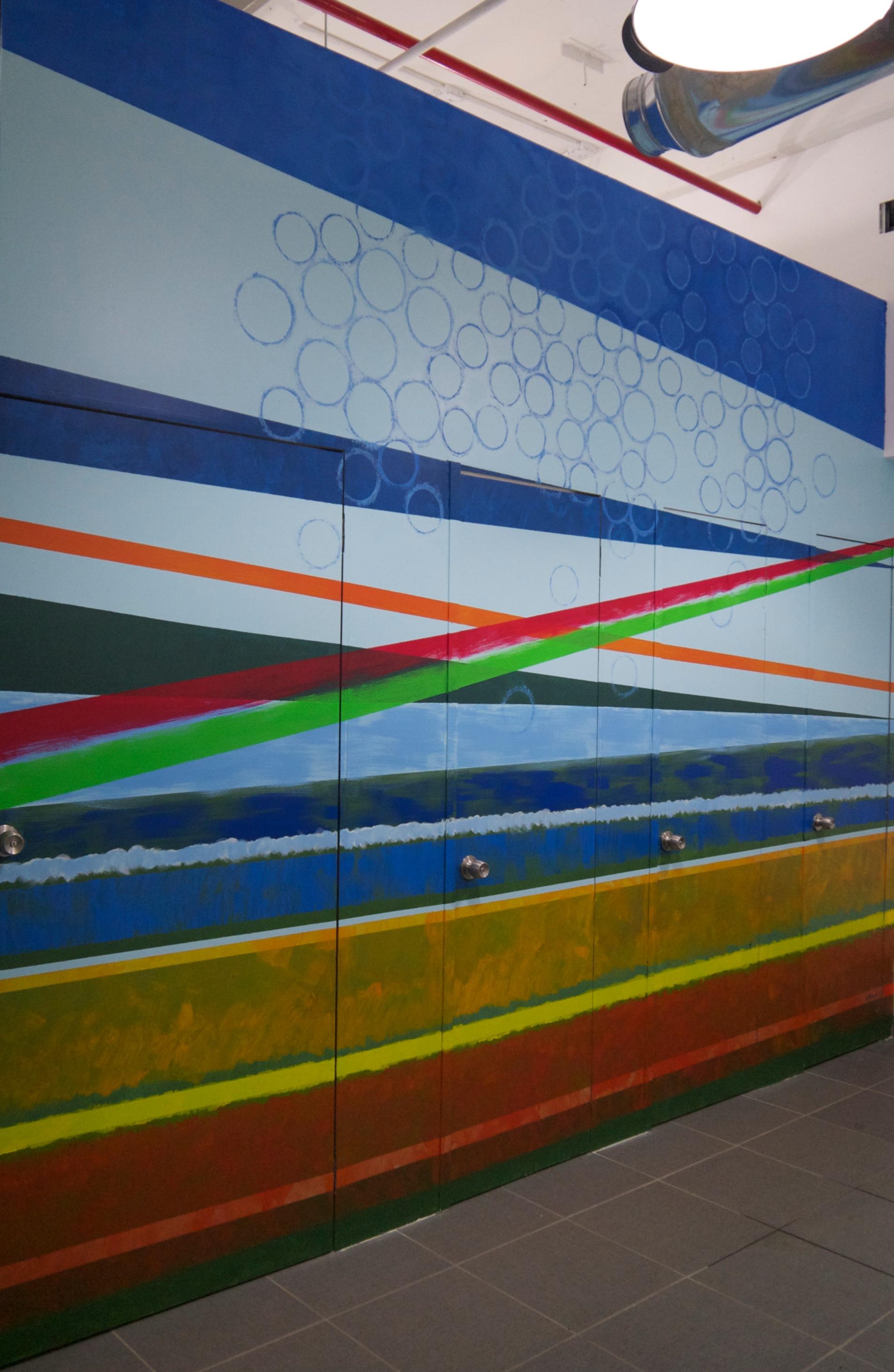 Landscape 0414 mural at b[x] bathroom