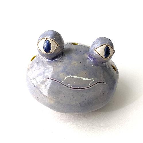 blue eyes lavender froggie