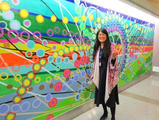 Community Mural @NYC H+H/Carter