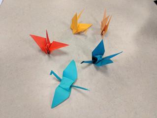 Origami workshop on 8/3/17
