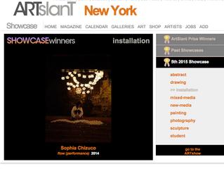 Winner of ARTslanT 5th 2015 showcase