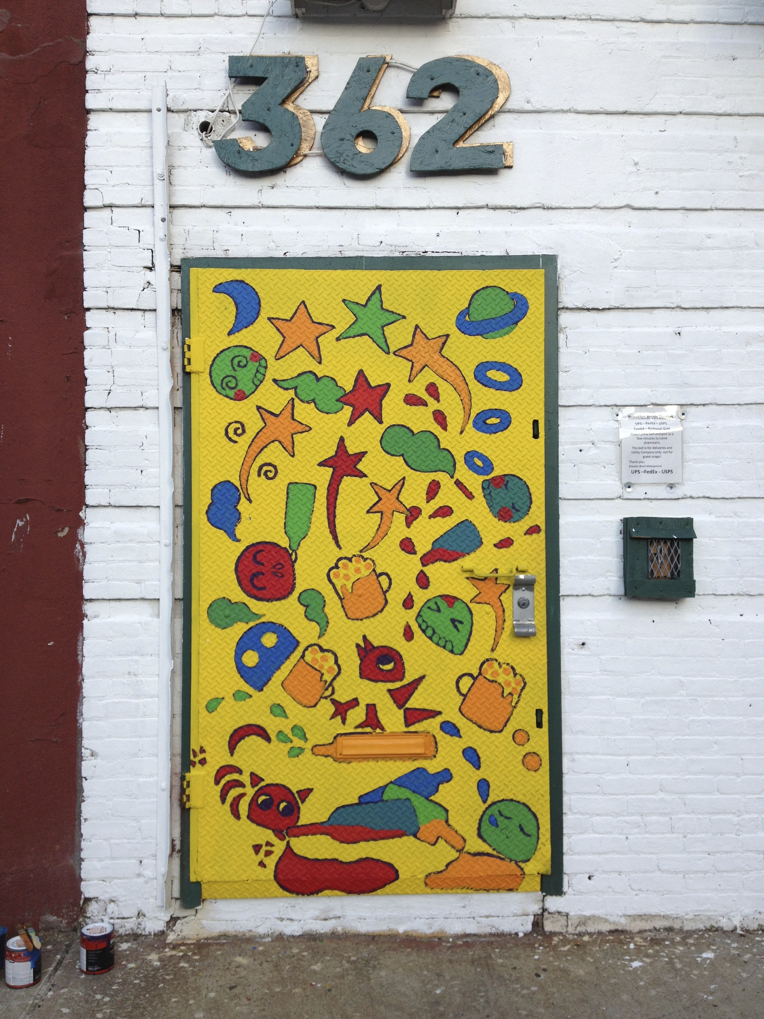 yellow door project -Jefferson St-