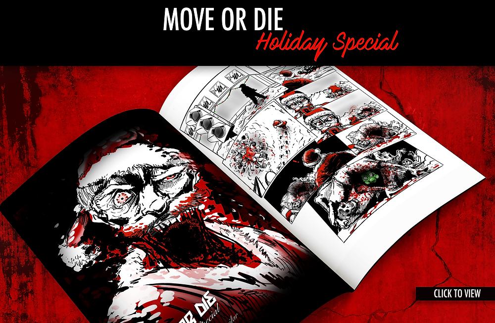 Zombie Parkour Web Comic