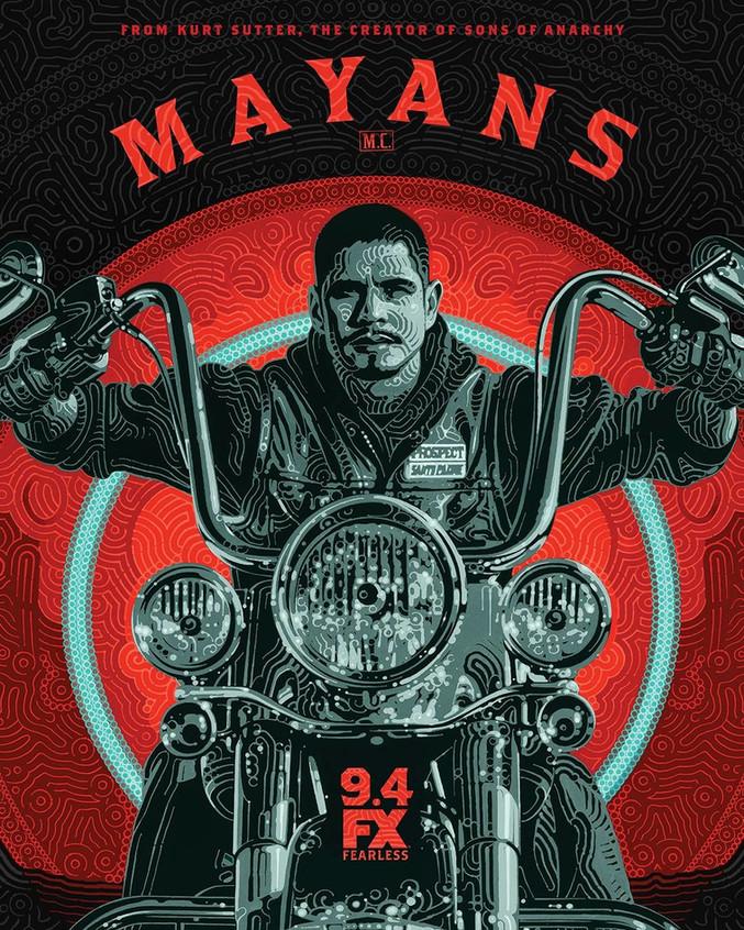 Mayans M.C. Television Poster Artist Ser