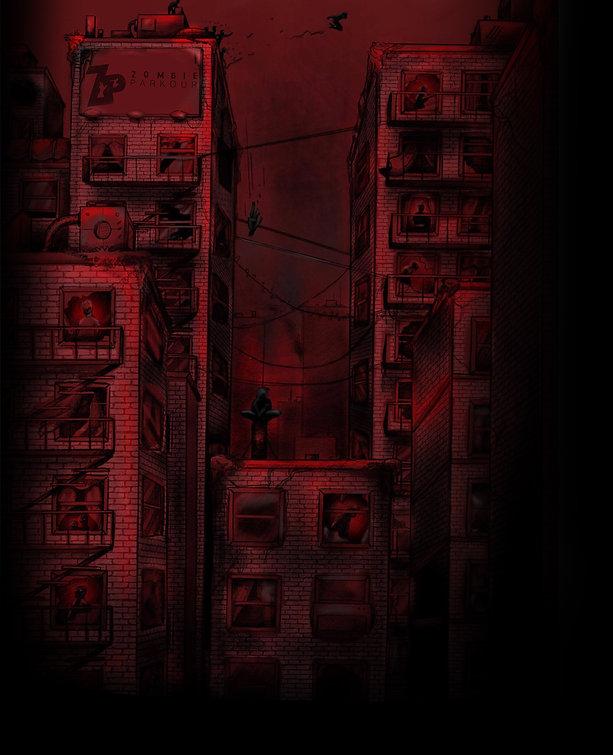 zombie movie film parkour