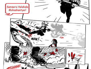 ZOMBIE PARKOUR Web Comic on Tapas.io