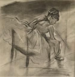 V Brooks after Degas